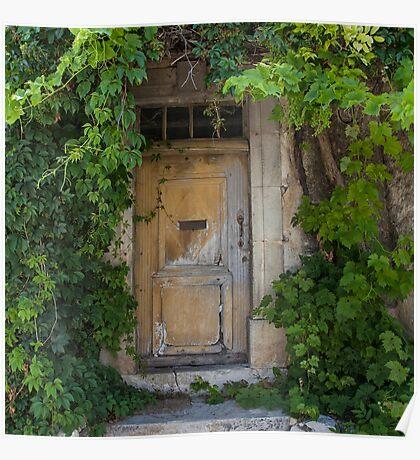 Provence Door Poster