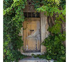 Provence Door Photographic Print