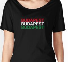 BUDAPEST Women's Relaxed Fit T-Shirt
