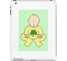 St Patrick's Day baby. iPad Case/Skin