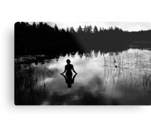 Reflecting Beauty v2 BoW Metal Print