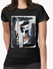 Ac No.8 Womens Fitted T-Shirt