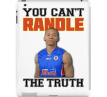 You Can't 'Randle' The Truth iPad Case/Skin