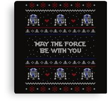 May The Forth Be With You Canvas Print