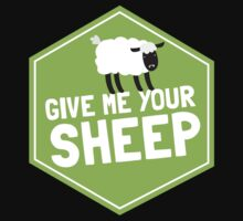 GIVE ME YOUR SHEEP One Piece - Short Sleeve