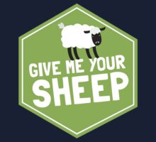 GIVE ME YOUR SHEEP One Piece - Long Sleeve