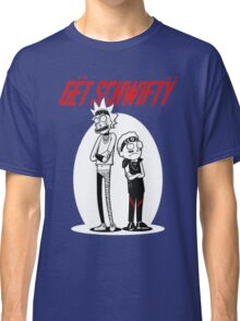Morty Get Schwifty Quote Classic T-Shirt
