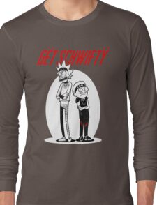 Morty Get Schwifty Quote Long Sleeve T-Shirt