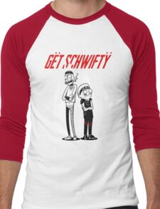 Morty Get Schwifty Quote Men's Baseball ¾ T-Shirt