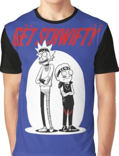 Morty Get Schwifty Quote Graphic T-Shirt