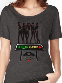 ♥♫Follow K-Pop Splendiferous K-Pop Clothing & Phone/iPad/Tablet/Laptop Cases & Stickers & Bags & Home Decor & Stationary♪♥ Women's Relaxed Fit T-Shirt