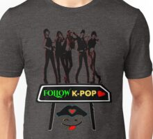 ♥♫Follow K-Pop Splendiferous K-Pop Clothing & Phone/iPad/Tablet/Laptop Cases & Stickers & Bags & Home Decor & Stationary♪♥ Unisex T-Shirt