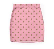 Pink Printed Designer Mini / Pencil Skirt by Marijke Verkerk Design Mini Skirt