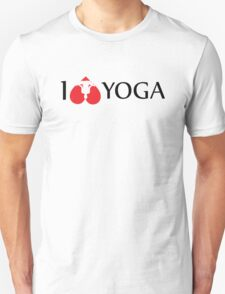 I Love Yoga Unisex T-Shirt