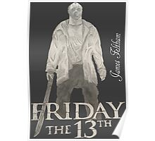 Hand Drawn Friday The 13th Design Poster