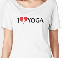 I Love Yoga Women's Relaxed Fit T-Shirt