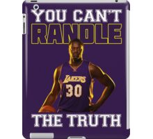 You Can't Randle The Truth iPad Case/Skin