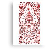 Lotus - Cambodia Canvas Print