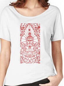 Lotus - Cambodia Women's Relaxed Fit T-Shirt