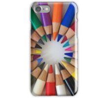 Colorful Pencils iPhone Case/Skin