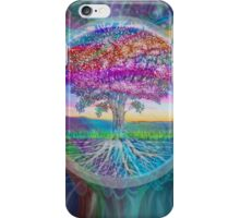 Tree of Health (Rainbow Aura 2) iPhone Case/Skin