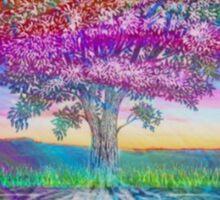 Tree of Health (Rainbow Aura 2) Sticker