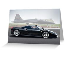 Ferrari Enzo 'Air Musuem' I Greeting Card