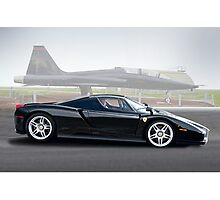 Ferrari Enzo 'Air Musuem' I Photographic Print