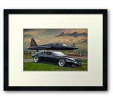 De Tomaso Pantera 'Air Museum' II Framed Print