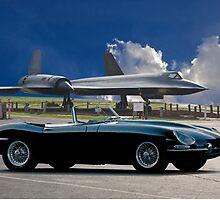 SR71 XKE 'Air Museum ' III by DaveKoontz