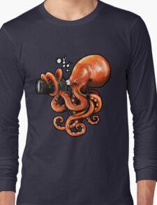 Octopus Reporter Long Sleeve T-Shirt