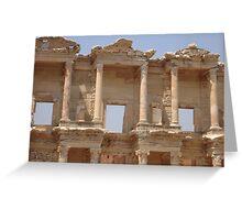 Ephesus - Library Facade Greeting Card