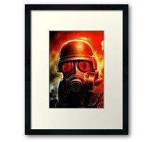 Hunk - The Umbrella Chronicles Framed Print