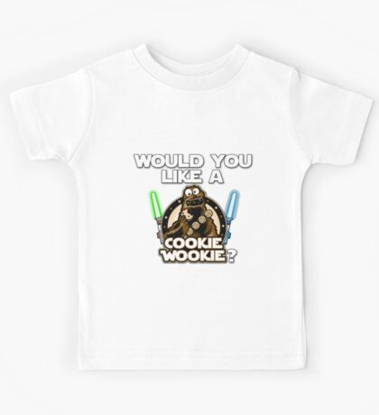 Would you like a Cookie Wookie? Kids Tee