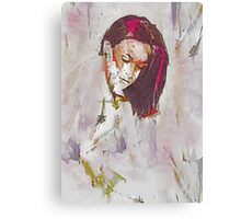 Collections Contemporary Abstract Portrait Canvas Print
