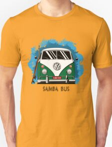 VW T1 Samba Bus (green) T-Shirt