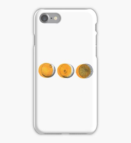 shifty orange  iPhone Case/Skin