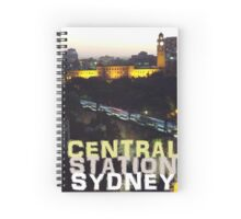 Central Station Sydney Spiral Notebook
