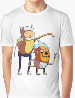 rick and morty adventure Graphic T-Shirt