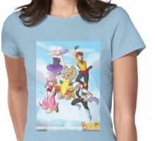 Dame Daffodil Prototype Womens Fitted T-Shirt