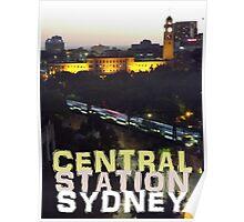 Central Station Sydney Poster