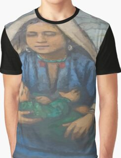 Mother and Child Graphic T-Shirt