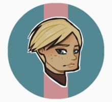 Chibi Brienne of Tarth - Round Sticker 02 by BlackLemonJuice