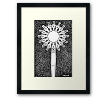Pen and nibs Framed Print