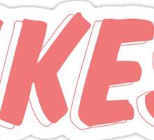 YIKES! (Yellow) Sticker