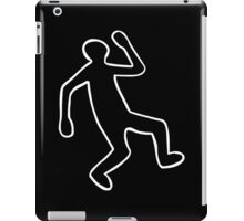 Crime Scene Body Outline iPad Case/Skin