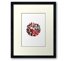 Japan Geek Framed Print