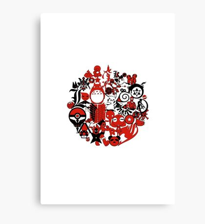 Japan Geek Canvas Print