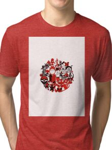 Japan Geek Tri-blend T-Shirt