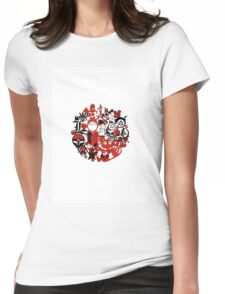 Japan Geek Womens Fitted T-Shirt